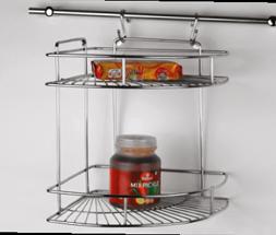 Hanging Corner(2-Shelf)